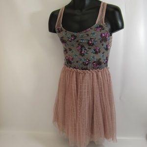 Maurices Boho Dress XS Sleeveless Gypsy Lace